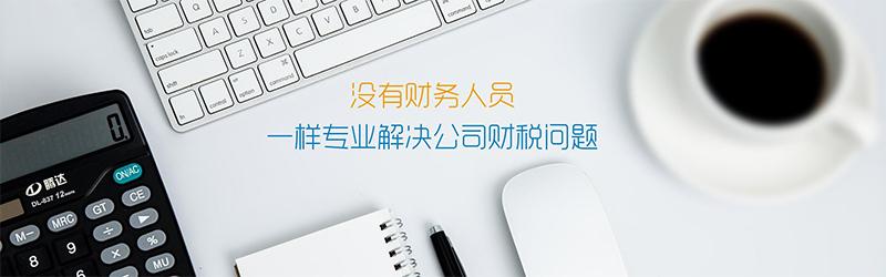 代理记账 专业解决公司财税问题